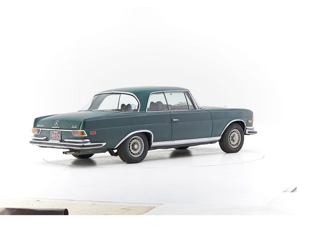 1970 MERCEDES 280SE 3.5 V8 For Sale (picture 2 of 6)