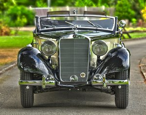 1939 Mercedes 320 Cabriolet A. For Sale