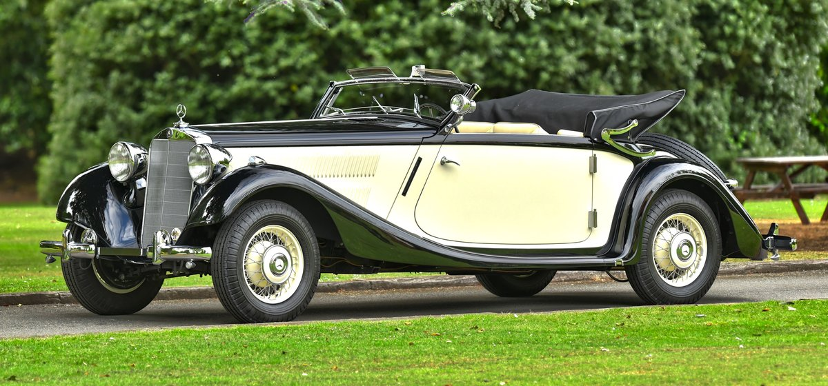 1939 Mercedes 320 Cabriolet A. For Sale (picture 2 of 6)