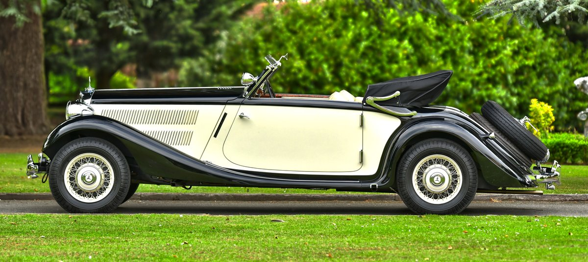 1939 Mercedes 320 Cabriolet A. For Sale (picture 3 of 6)