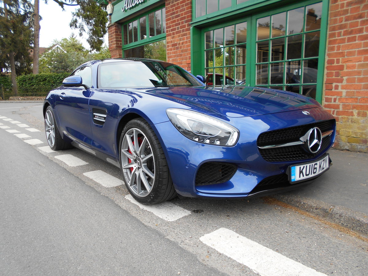 2016 Mercedes AMG GT  SOLD (picture 2 of 6)