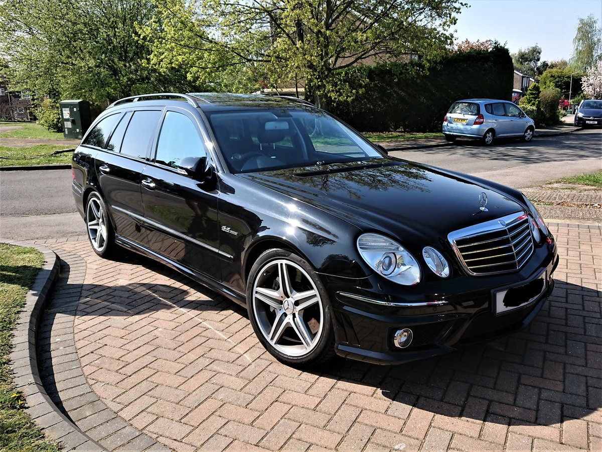 2008 Stunning and Rare Mercedes E63 AMG For Sale (picture 1 of 5)