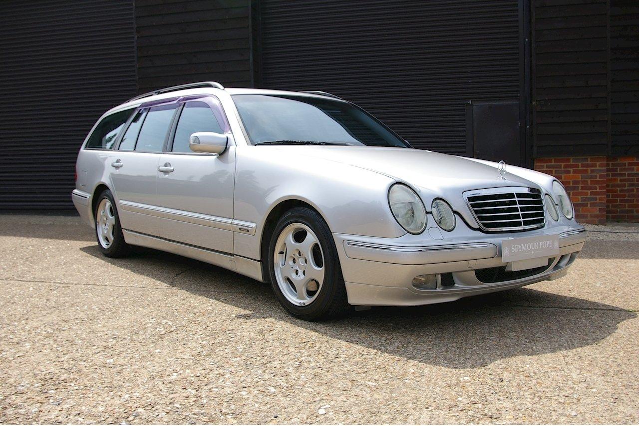2000 Mercedes-Benz W210 E320 Avantgarde Estate Auto (16560 miles) For Sale (picture 1 of 6)
