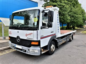 2005 Mercedes 818 Tilt & Slide & spec lift recovery truck NO VAT For Sale
