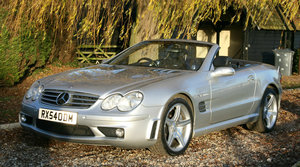 2004 Mercedes-Benz SL65 AMG AUTO. 2 owner from new.46,000 miles For Sale