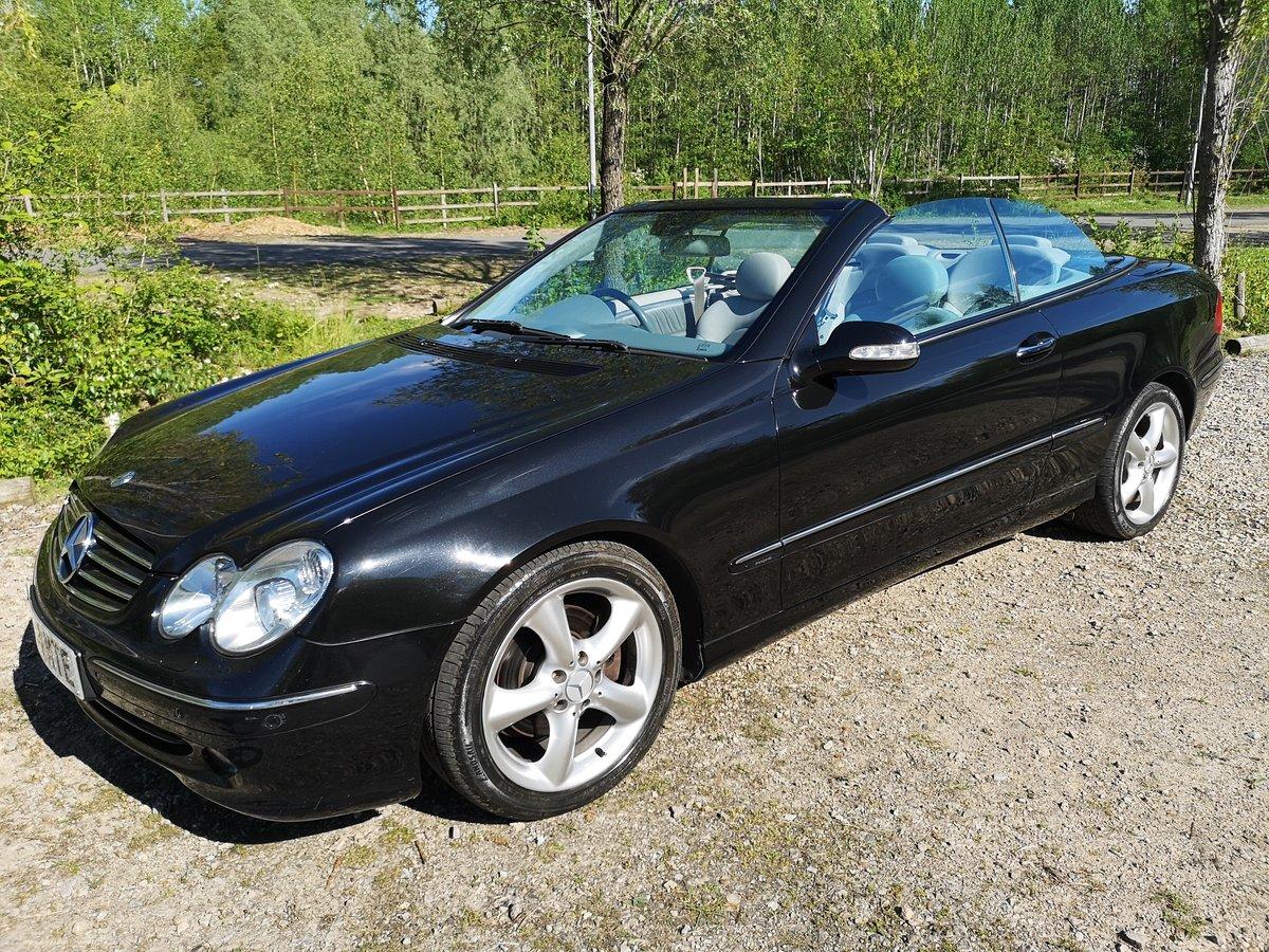 2004 Mercedes-Benz CLK 3.2 CLK320 Avantgarde Cabriolet For Sale (picture 1 of 6)