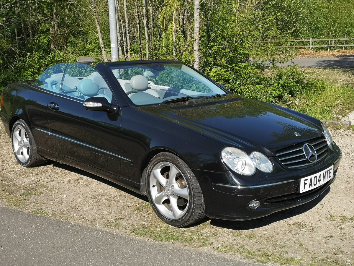 2004 Mercedes-Benz CLK 3.2 CLK320 Avantgarde Cabriolet For Sale (picture 2 of 6)