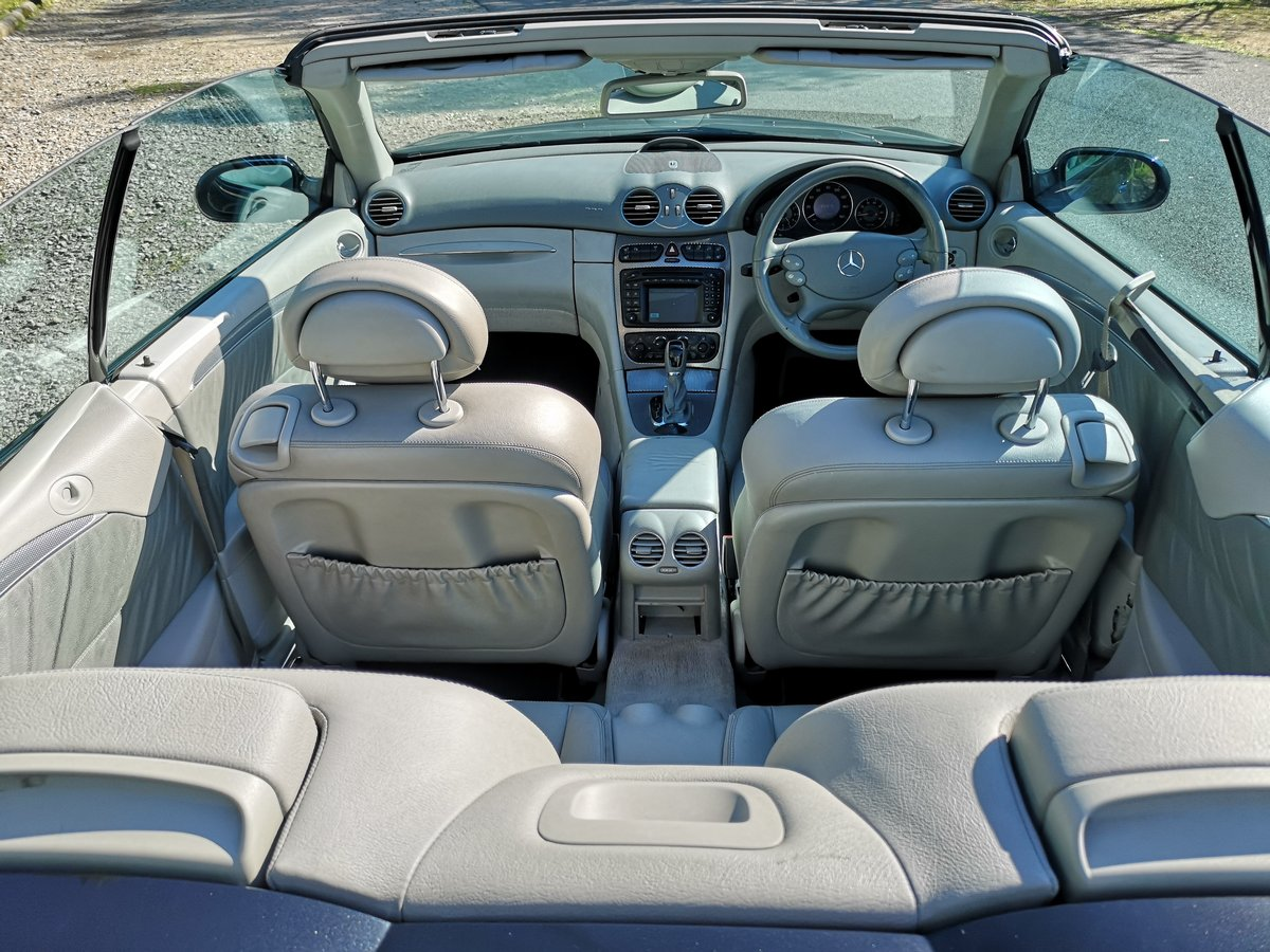 2004 Mercedes-Benz CLK 3.2 CLK320 Avantgarde Cabriolet For Sale (picture 5 of 6)