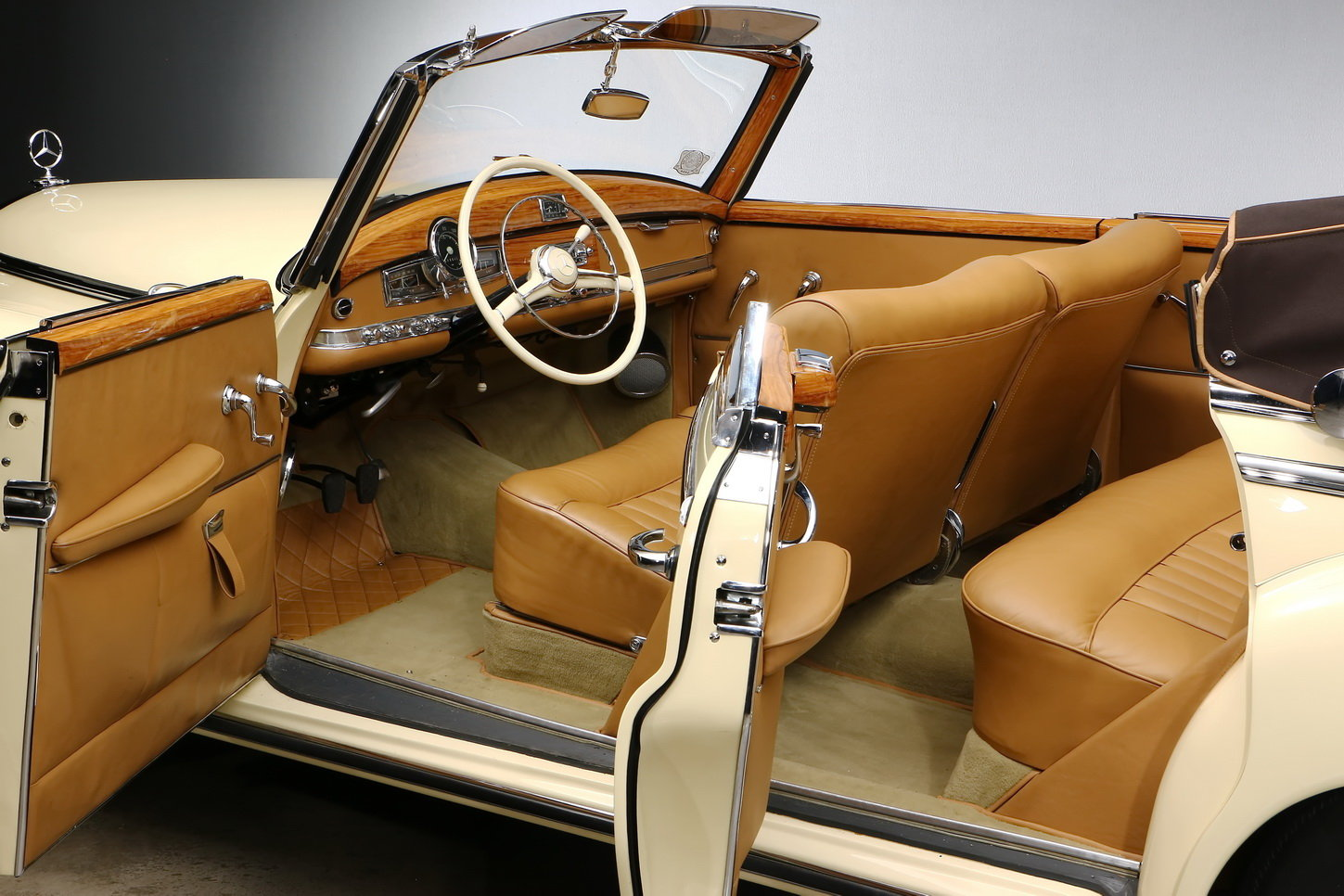 1953 Mercedes-Benz 300 Convertible D For Sale (picture 5 of 6)