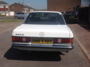 1983 230E Mercedes ex wedding car For Sale
