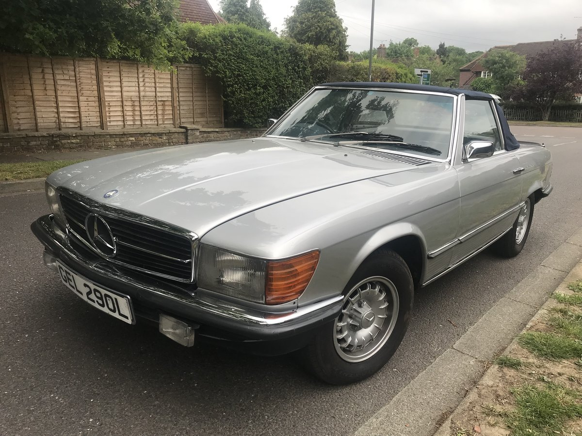 1973 Classic Mercedes 300SL For Sale (picture 2 of 6)