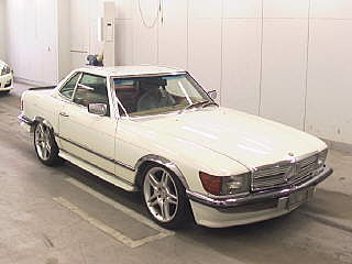 1983 Mercedes 380SL Full body kit and interior styling rust free  For Sale (picture 1 of 3)