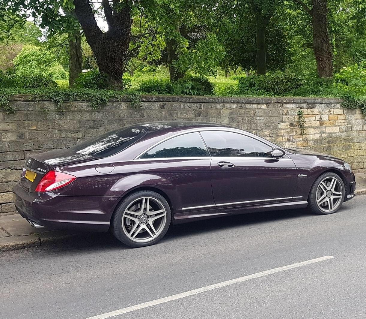Mercerdes CL63 AMG 2008 57 Rare Colour 7G Tronic For Sale (picture 2 of 5)