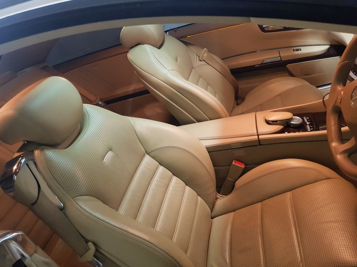 Mercerdes CL63 AMG 2008 57 Rare Colour 7G Tronic For Sale (picture 3 of 5)