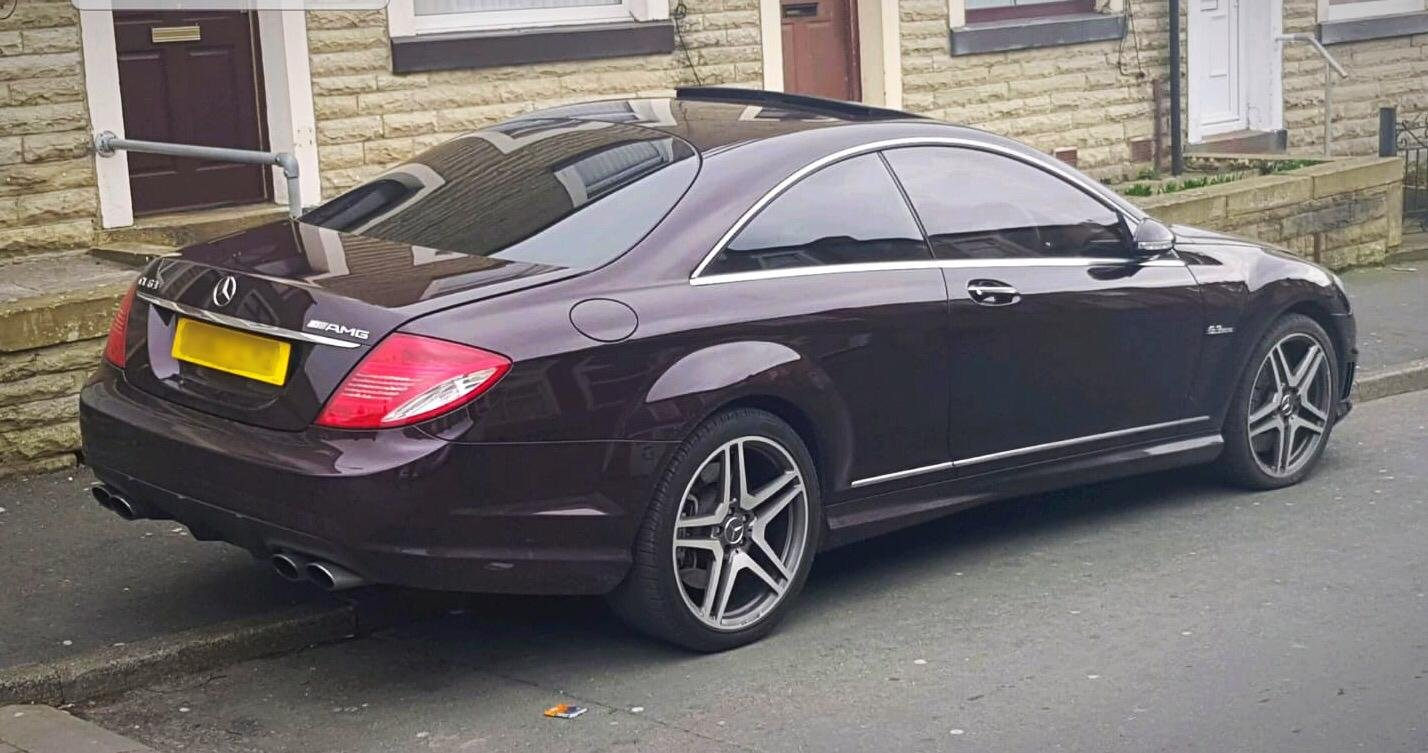 Mercerdes CL63 AMG 2008 57 Rare Colour 7G Tronic For Sale (picture 4 of 5)