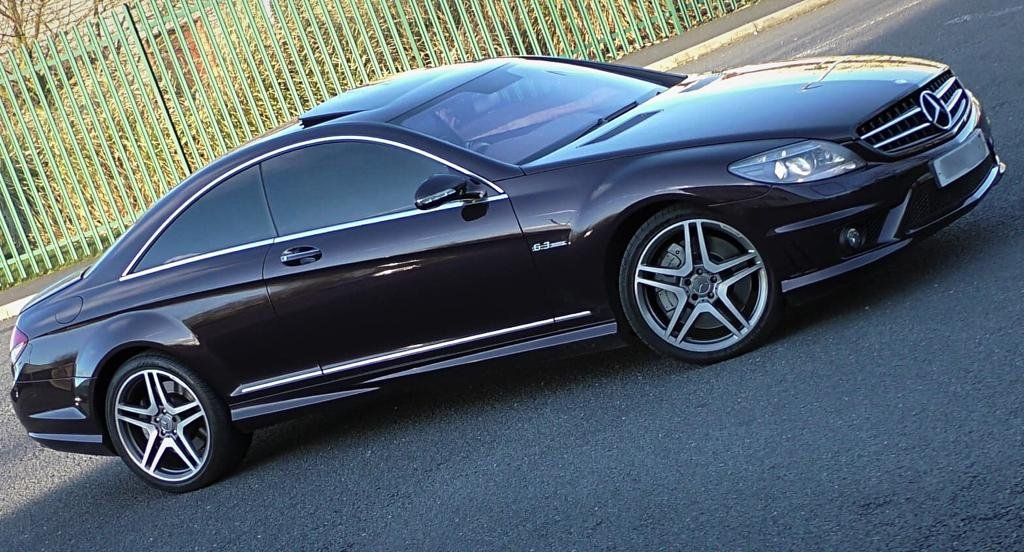 Mercerdes CL63 AMG 2008 57 Rare Colour 7G Tronic For Sale (picture 5 of 5)