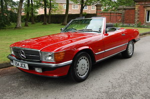 1988 300 SL 2 OWNERS 59000 MILES £39950 For Sale