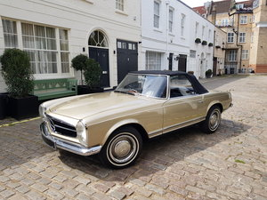 1966 Mercedes 230SL Pagoda Restored UK RHD For Sale