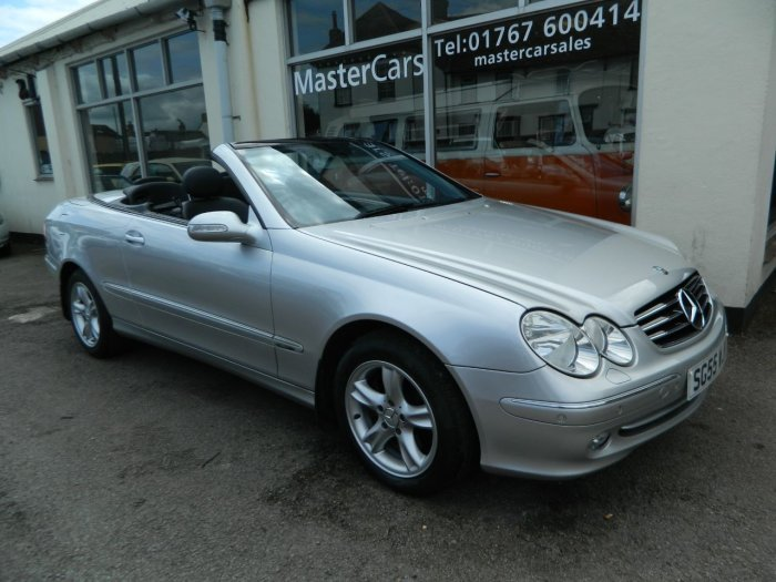 2005/55 Mercedes CLK320 Avantgarde 3.2 Auto Cab 69378 mls For Sale (picture 1 of 6)