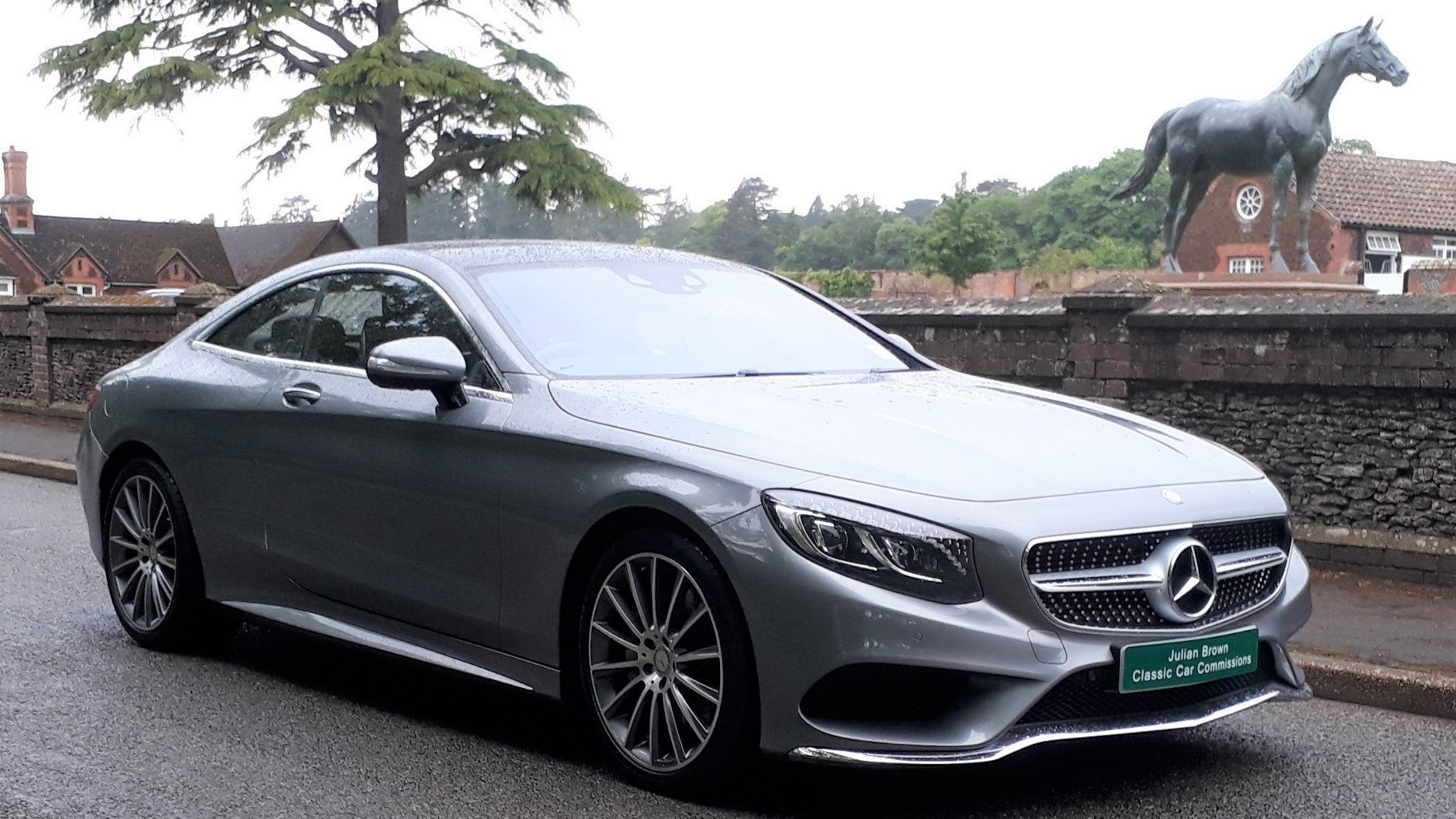 Mercedes-Benz S500 AMG Coupe 2015 29k Miles 1 Owner £110k V8 SOLD (picture 1 of 6)