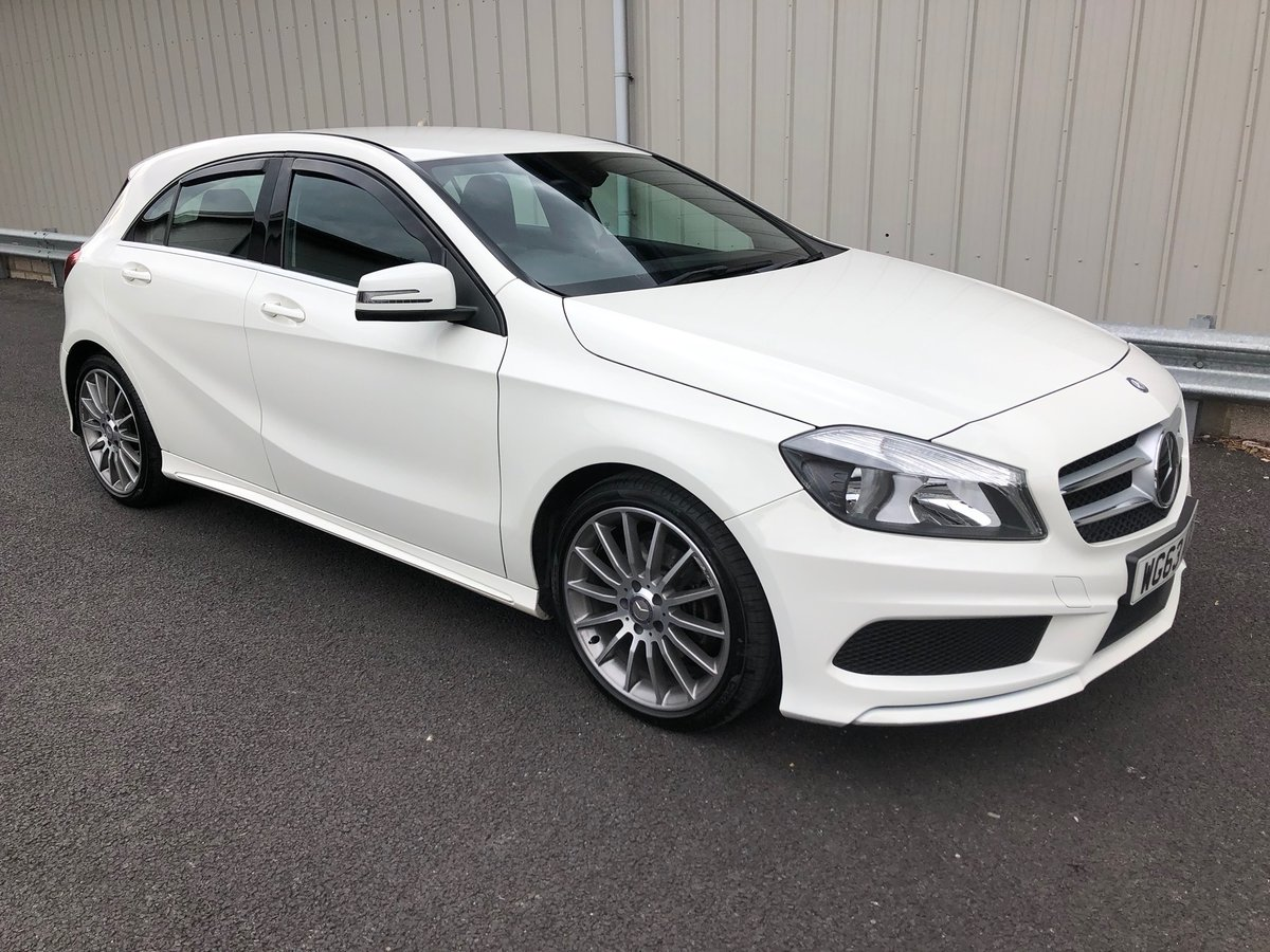 2013 63 MERCEDES-BENZ A CLASS 1.8 A200 CDI AMG SOLD (picture 1 of 6)