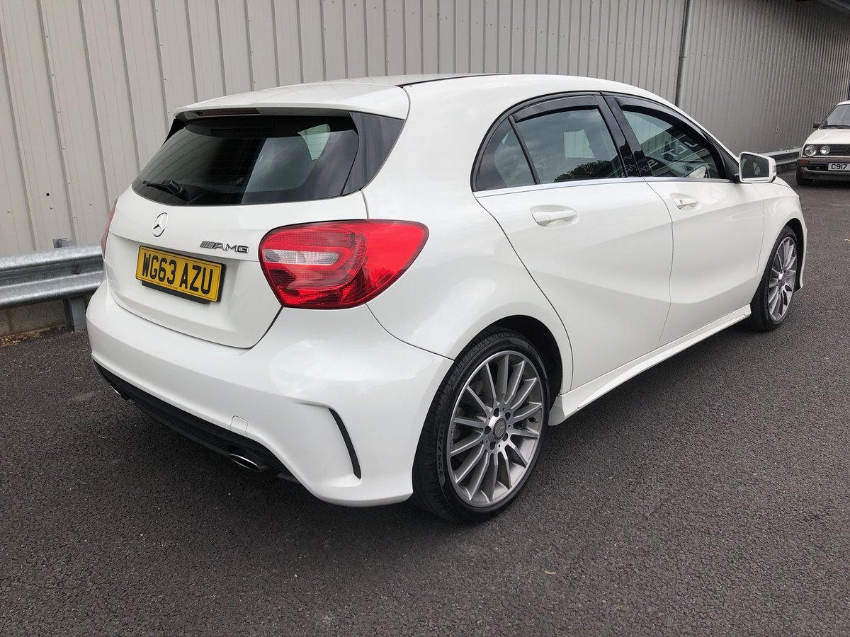 2013 63 MERCEDES-BENZ A CLASS 1.8 A200 CDI AMG SOLD (picture 2 of 6)