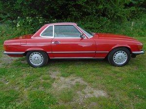 Mercedes 300SL R107, 1986/C, 60k Miles, New MOT For Sale