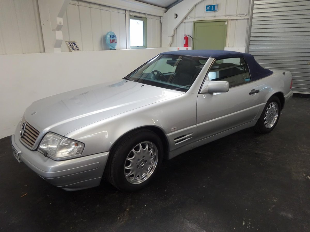 1996 Mercedes SL500 - Just 25,305 miles from new. For Sale (picture 1 of 6)