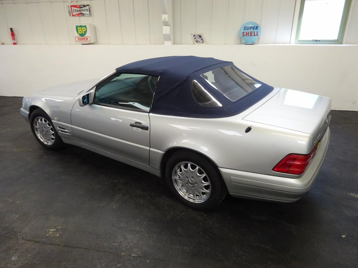 1996 Mercedes SL500 - Just 25,305 miles from new. For Sale (picture 2 of 6)