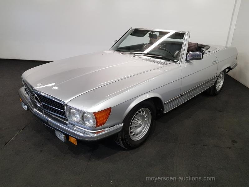 Mercedes-Benz 280SL 1982  For Sale by Auction (picture 1 of 6)