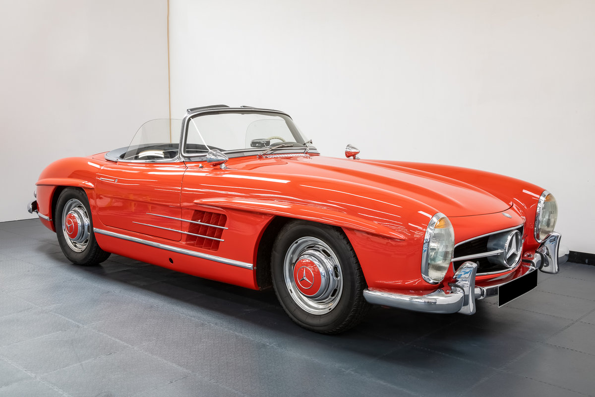 Mercedes Benz 300SL Roadster 1957 For Sale (picture 1 of 6)