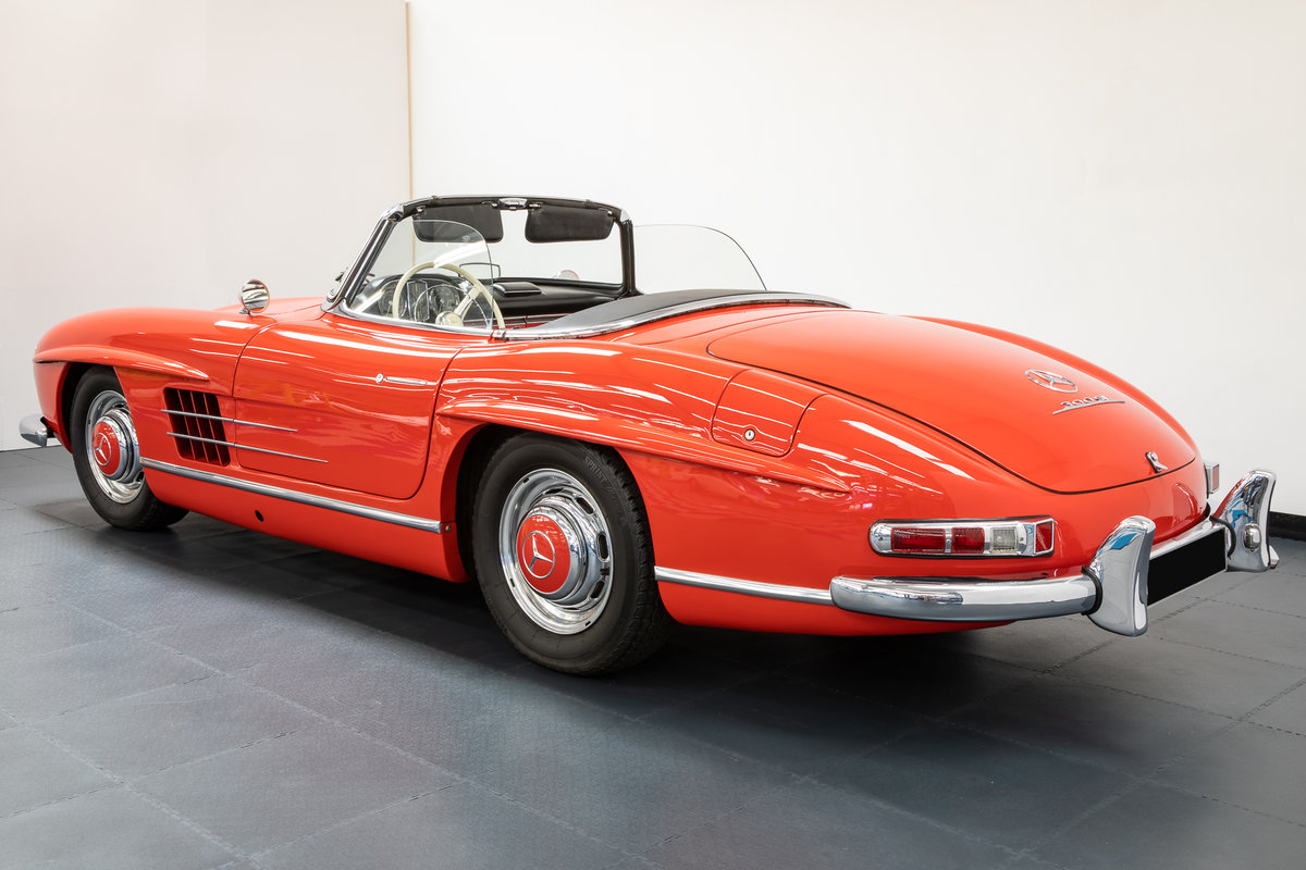 Mercedes Benz 300SL Roadster 1957 For Sale (picture 2 of 6)