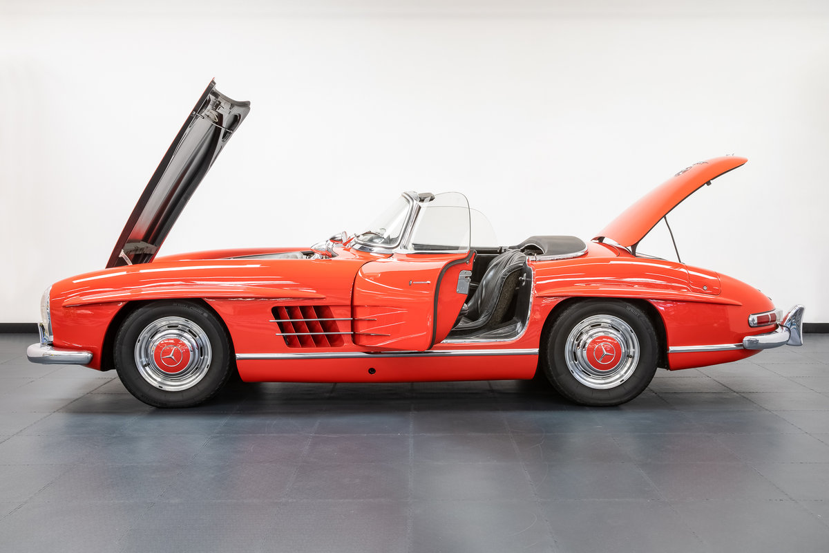 Mercedes Benz 300SL Roadster 1957 For Sale (picture 3 of 6)