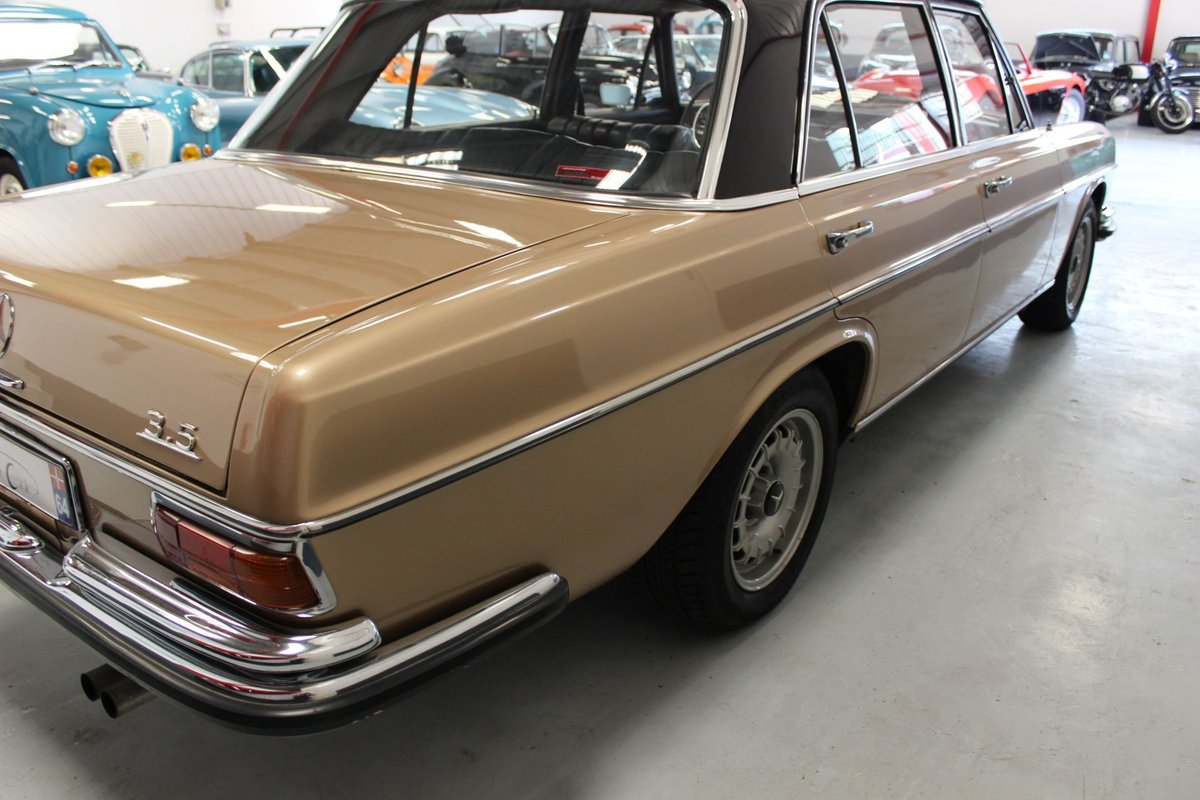 1971 Mercedes 280SEL 3,5 V8 mechanical gearbox For Sale (picture 2 of 6)