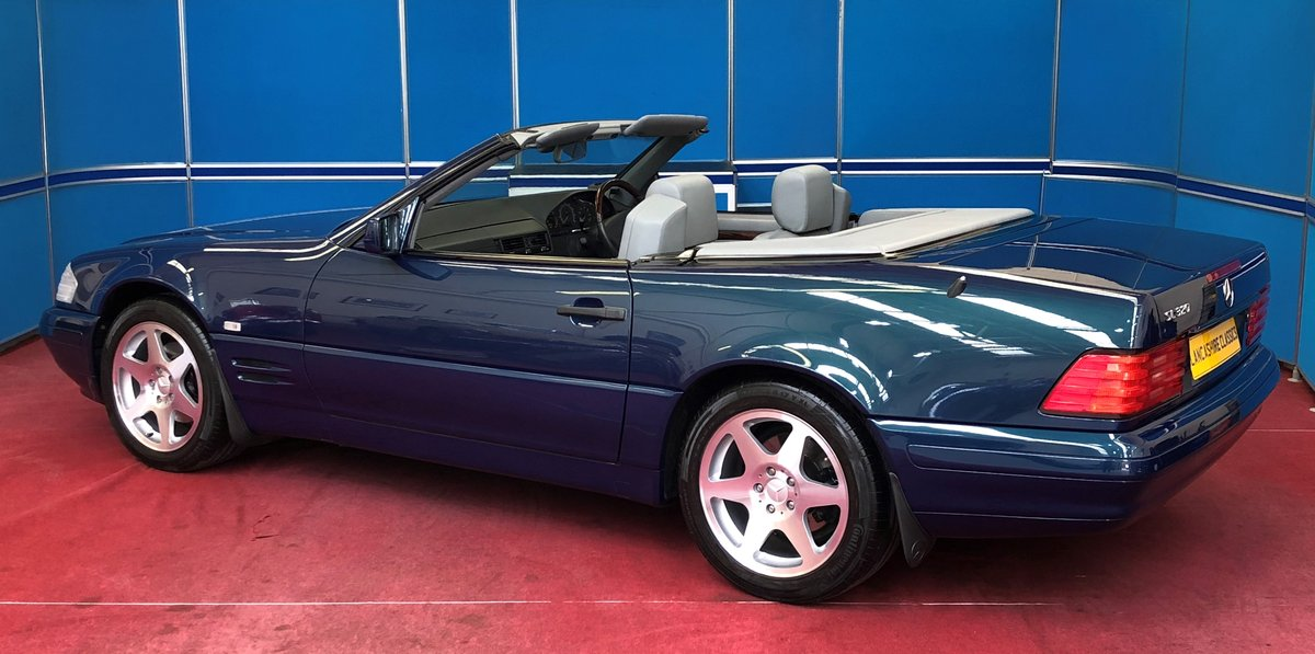 1998 Mercedes SL320 40th Anniversary Edition For Sale (picture 2 of 6)