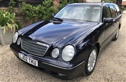 2002 E320 CDI Elegance Estate - Barons Tuesday 16th July 2019 For Sale by Auction
