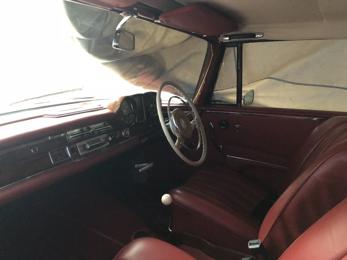 Rare 1963 Mercedes cabriolet For Sale (picture 1 of 6)