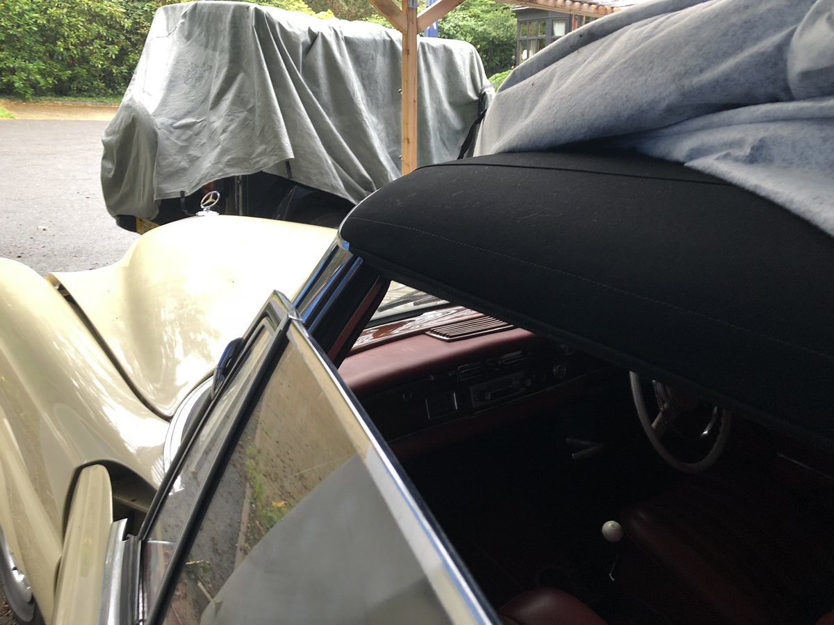 Rare 1963 Mercedes cabriolet For Sale (picture 4 of 6)