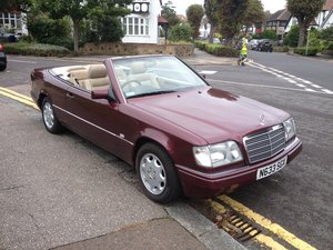 1996 Mercedes e220 cabriolet,full history ,all the mots For Sale