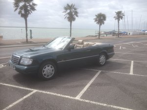 1995 E220 CABRIOLET 89000 ,HISTORY. For Sale