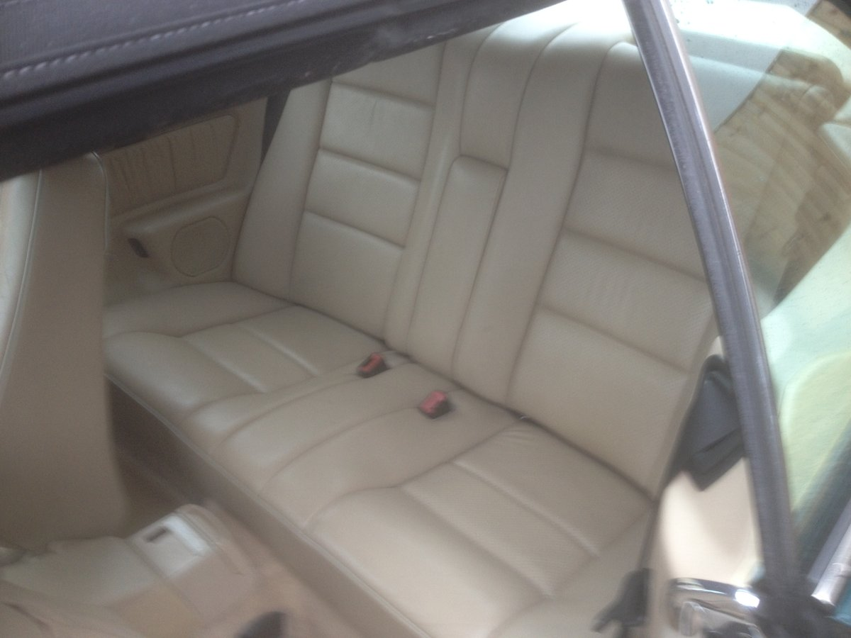 1995 E220 CABRIOLET 89000 ,HISTORY. For Sale (picture 6 of 6)