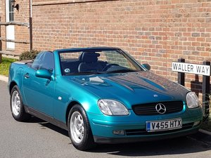 2000 MERCEDES SLK 200 CONVERTIBLE - LHD LEFT HAND DRIVE -74K For Sale