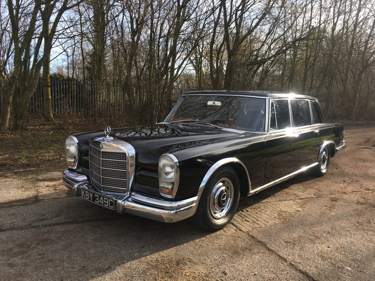 1965 Mercedes 600 SWB RHD For Sale (picture 1 of 6)