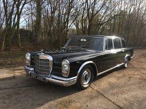 1965 Mercedes 600 SWB RHD For Sale