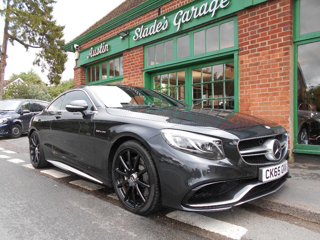 2015 Mercedes-Benz S63 Coupe  SOLD (picture 2 of 4)