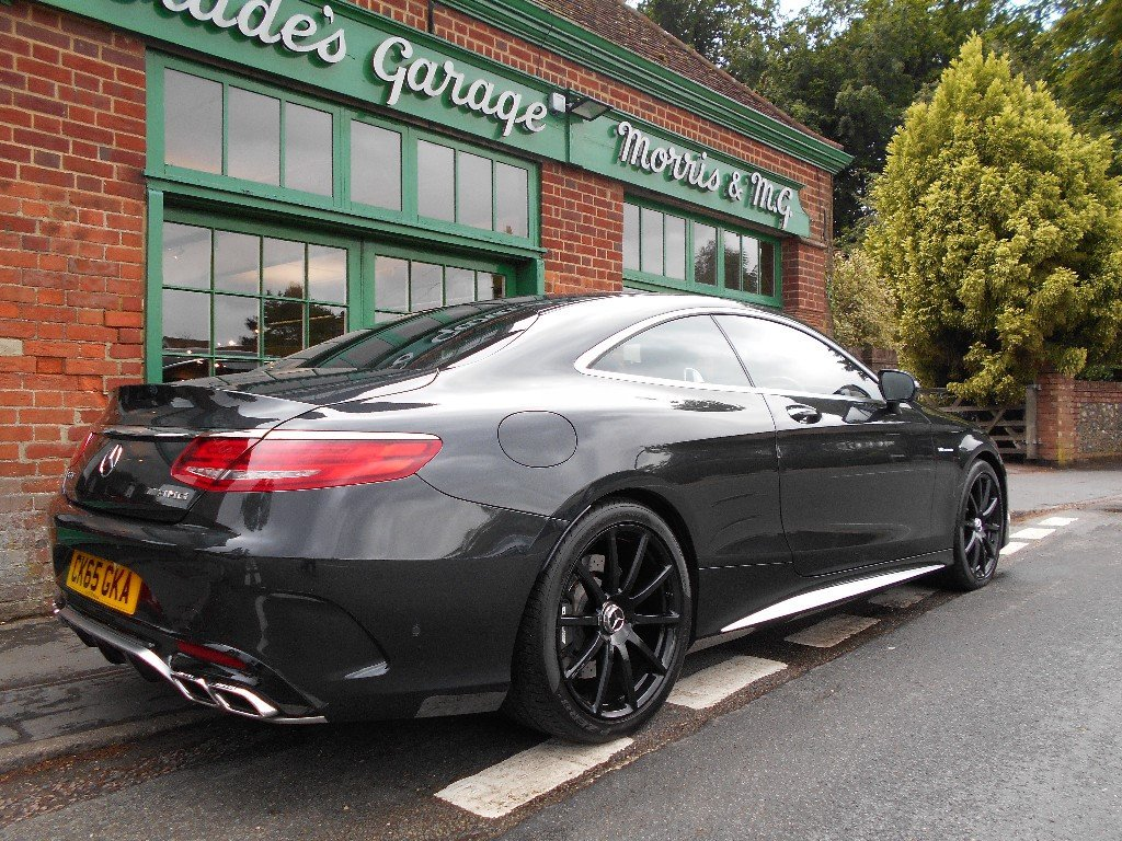 2015 Mercedes-Benz S63 Coupe  SOLD (picture 3 of 4)