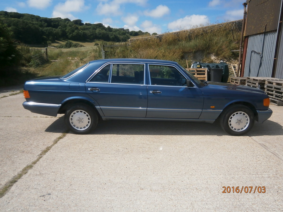 1989 Mercedes 420 sel W126 For Sale (picture 1 of 6)