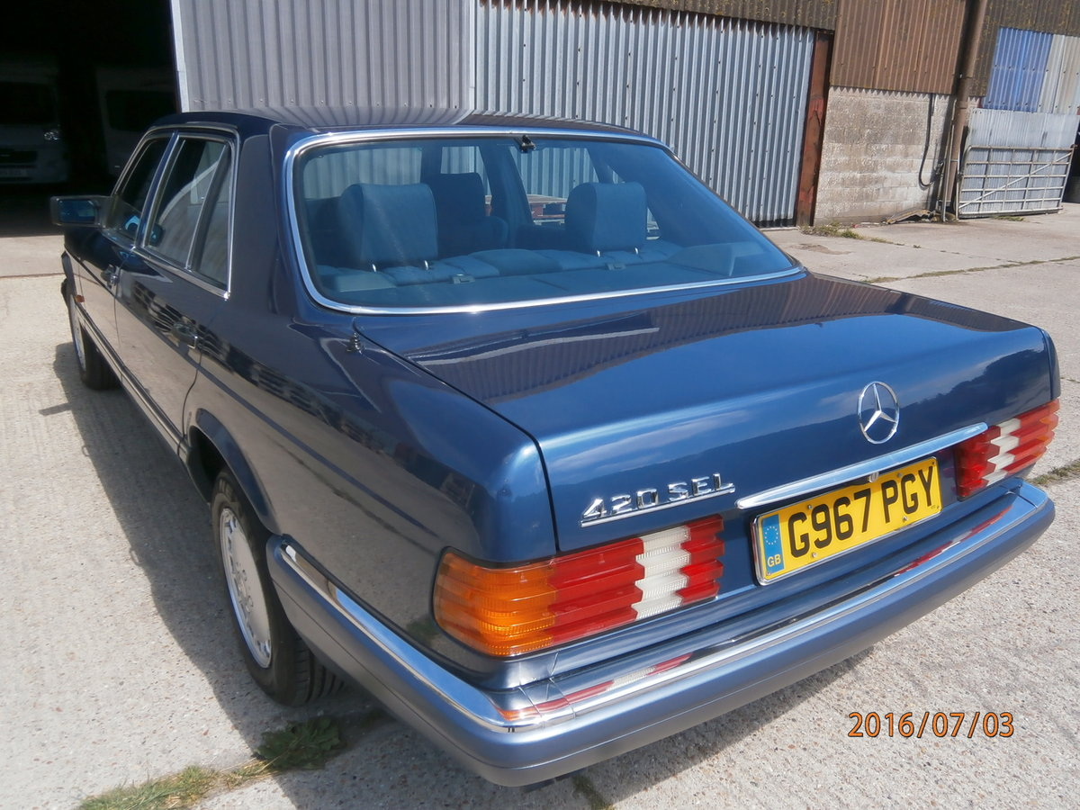 1989 Mercedes 420 sel W126 For Sale (picture 2 of 6)