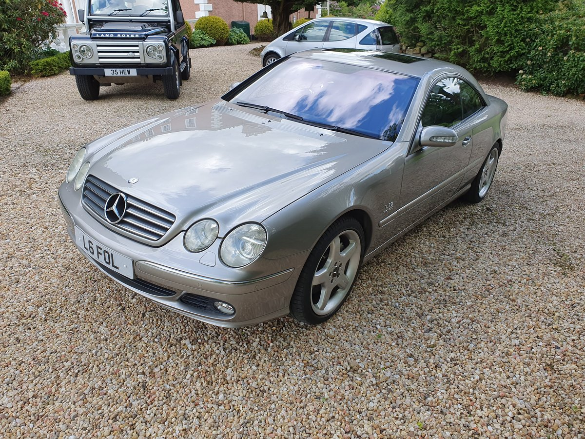 Mercedes CL600 V12 Bi Turbo, 2004,3 Previous Owner For Sale (picture 2 of 6)