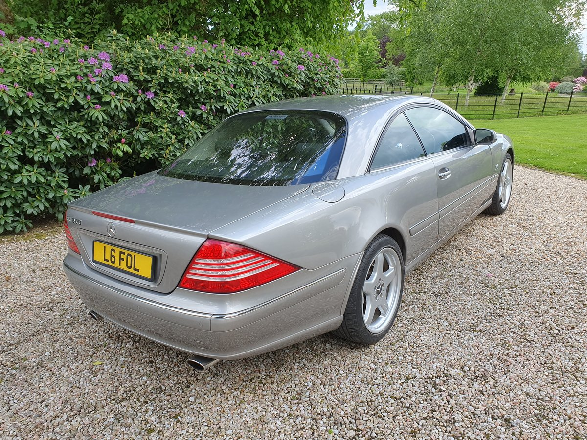 Mercedes CL600 V12 Bi Turbo, 2004,3 Previous Owner For Sale (picture 3 of 6)